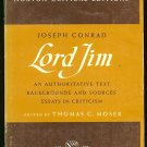 Moser Thomas C. (edited by): Joseph Conrad Lord Jim An Authoritative Text Backgrounds and Sources Es
