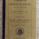 Landes Henry: Washington Geological Survey Volume One Annual Report For 1901 Part Three The Non Meta