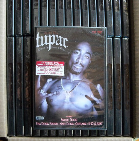 Lot of 3 Death Row Tupac Shakur music DVD 801213012992