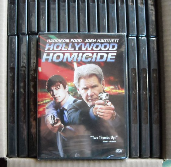 Harrison Ford Hollywood Homicide DVD