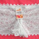 Lot of 3 womens Cream openwork lace Boyshorts intimates underwear panties size S NWT