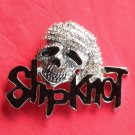 Slipknot Silver color Pirate Skull with Rhinestone metal belt buckle