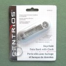 Centrios Keychain Data Bank With Clock