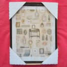 Grandmas Dressing Table Framed Kitchen Wall Art Print