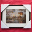 Hot Air Balloons Framed Kitchen Wall Art Print