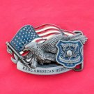 Police Pewter Color Unisex Belt Buckle