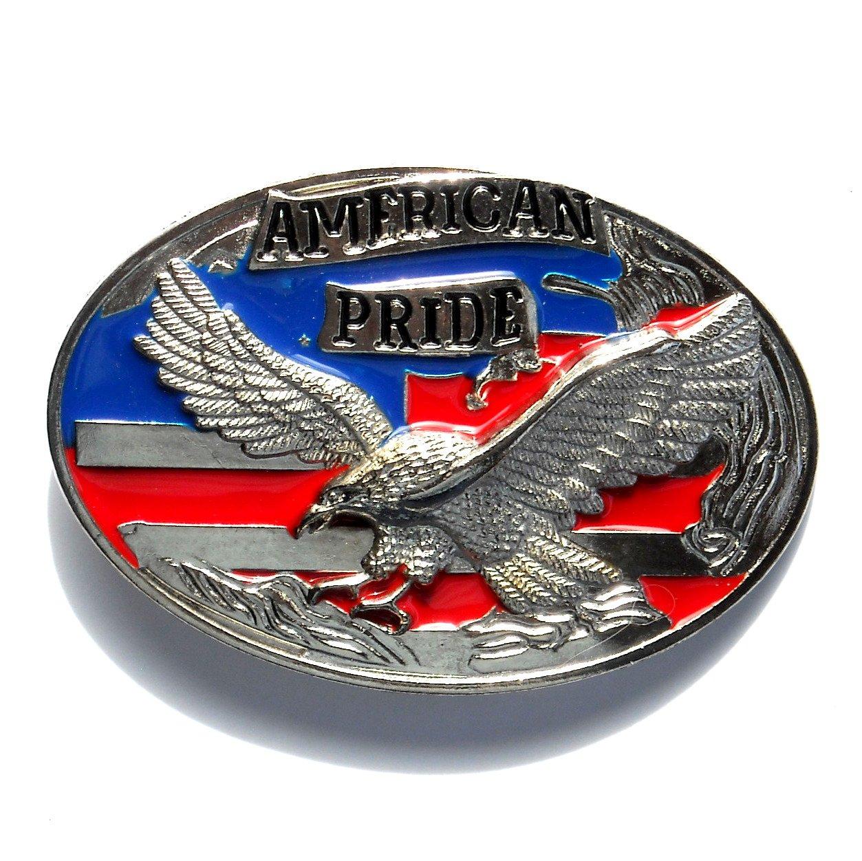 Bald Eagle American Pride Belt Buckle