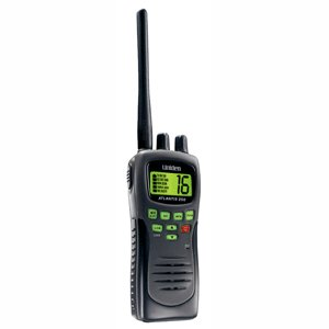 Uniden Atlantis 250G Grey Handheld VHF Radio