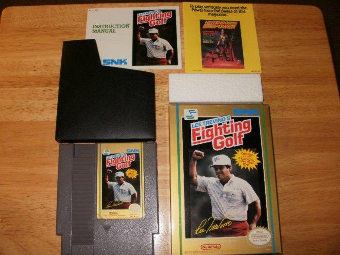 Lee Trevino's Fighting Golf - Nintendo NES - Complete
