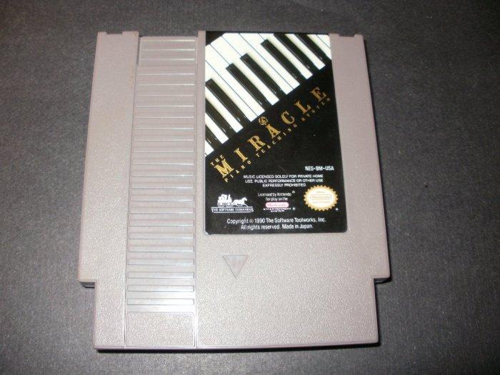 Miracle Piano Teaching System - Nintendo NES - Rare