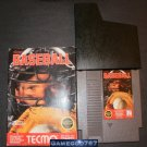 Tecmo Baseball - Nintendo NES - With Box and Catridge Sleeve