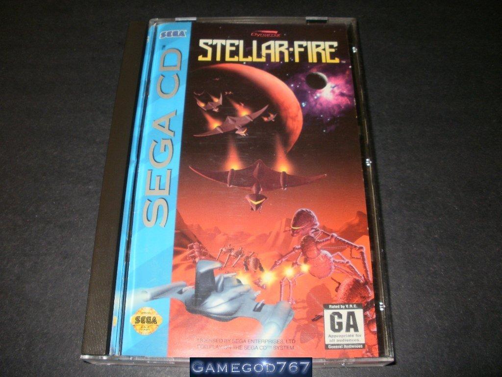 Stellar Fire - Sega CD - Complete CIB