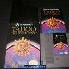 Taboo The Sixth Sense - Nintendo NES - Complete CIB