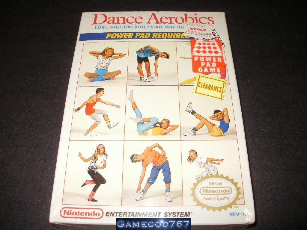 Dance Aerobics - Nintendo NES - Brand New Factory Sealed H Seam