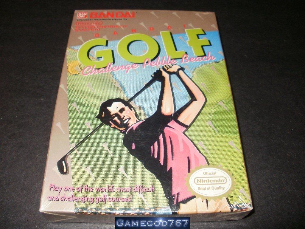 Bandai Golf - Nintendo NES - Brand New Factory Sealed H Seam