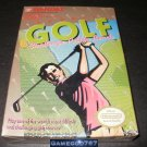 Bandai Golf - Nintendo NES - Brand New Factory Sealed H Seam