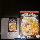 Joe & Mac - Nintendo NES - With Box and Cartridge Sleeve