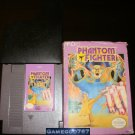 Phantom Fighter - Nintendo NES - With Box and Cartridge Sleeve