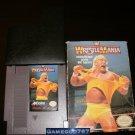 WWF Wrestlemania - Nintendo NES - With Box and Cartridge Sleeve
