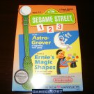 Sesame Street 123 - Nintendo NES - Brand New Factory Sealed H Seam