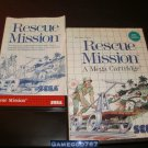 Rescue Mission - Sega Master System - Complete CIB