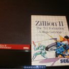 Zillion II - Sega Master System - With Box