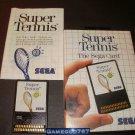 Super Tennis - Sega Master System - Complete CIB