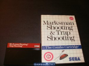Marksman Shooting &amp; Trap Shooting - Sega Master System - With Box