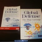 Global Defense - Sega Master System - Complete CIB