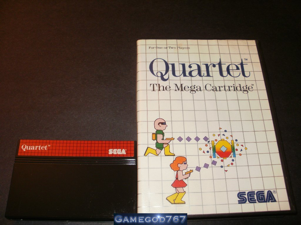 Quartet - Sega Master System - With Box