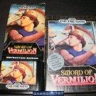 Sword of Vermilion - Sega Genesis - Complete CIB