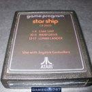 Star Ship - Atari 2600 - 1978 Text Label Version