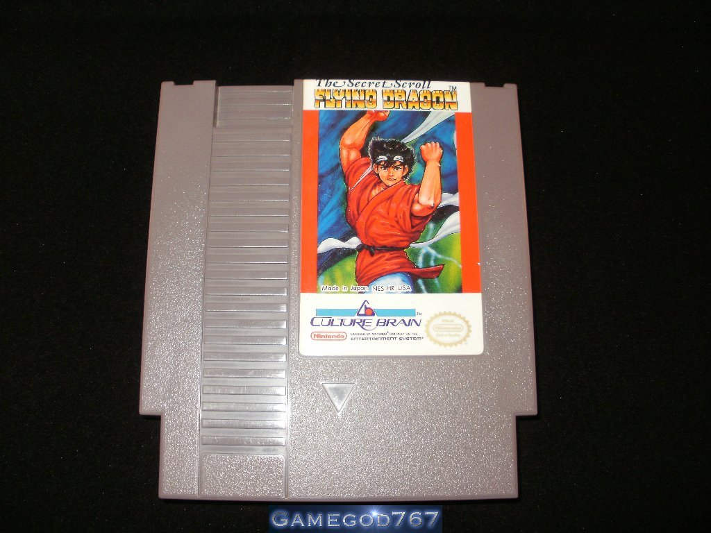 Flying Dragon - Nintendo NES