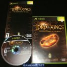 Lord of the Rings The Fellowship of the Ring - Xbox - Complete CIB