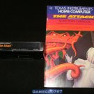 The Attack - Texas Instruments TI-99 - With Manual