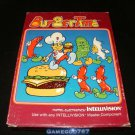 Burgertime - Mattel Intellivision - With Box and Manual