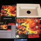Advanced Dungeons & Dragons Eye of the Beholder - SNES Super Nintendo - Complete CIB