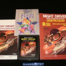 Night Driver - Atari 2600 - Complete