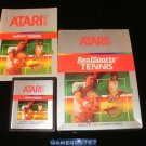 RealSports Tennis - Atari 2600 - Complete
