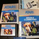 Missile Command - Atari 5200 - Complete CIB