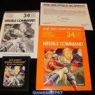 Missile Command - Atari 2600 - Complete CIB