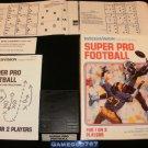 Super Pro Football - Mattel Intellivision - Complete CIB - Rare