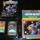 Nova Blast - Mattel Intellivision - Complete CIB