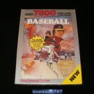 Realsports Baseball - Atari 7800 - New Factory Sealed