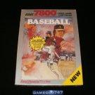 Realsports Baseball - Atari 7800 - New Factory Sealed