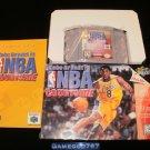 Kobe Bryant in NBA Courtside - N64 Nintendo - Complete CIB