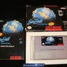 SimEarth - SNES Super Nintendo - Complete CIB