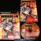 Robotech Invasion - Sony PS2 - Complete CIB
