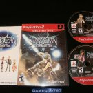Star Ocean Till the End of Time - Sony PS2 - Complete CIB