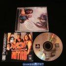 WCW Nitro - Sony PS1 - Complete CIB